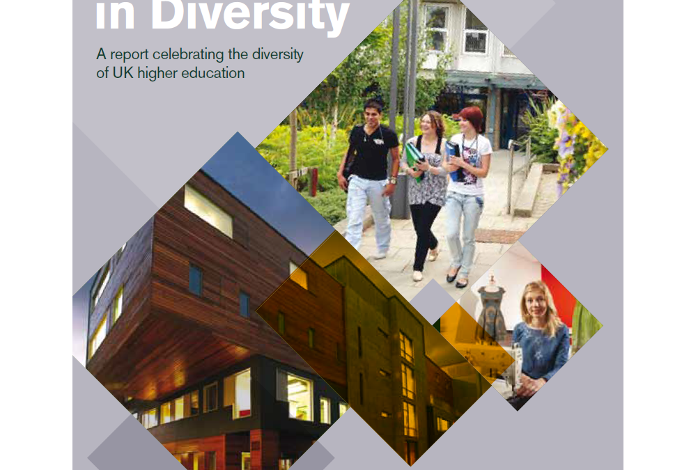 Diverse higher education. That's something to celebrate