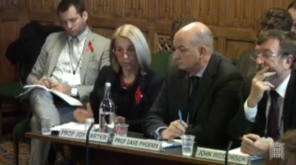 GuildHE Chair gives evidence at BIS Committee inquiry into assessing quality in Higher Education