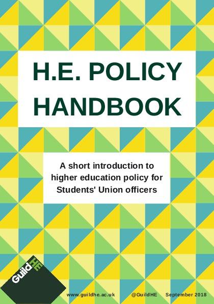 H.E. Policy Handbook – 2018/19 Edition