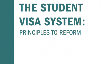 Student visa system – new briefing document